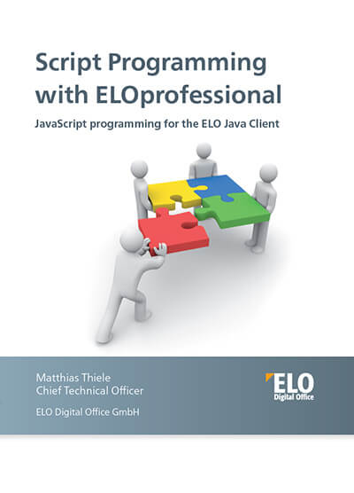ELOprofessional - JavaScript Programming for the ELO Java Client
